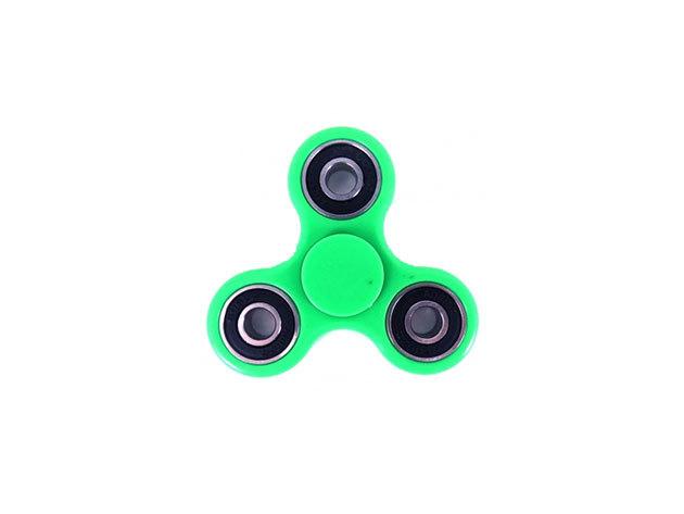 Fidget Spinner ügyességi játék - zöld