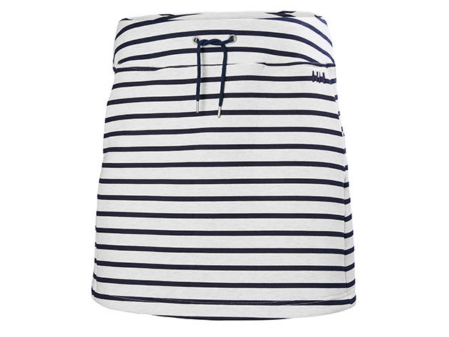 Helly Hansen W NAIAD SKIRT EVENING BLUE STRIPE L (53043_690-L)