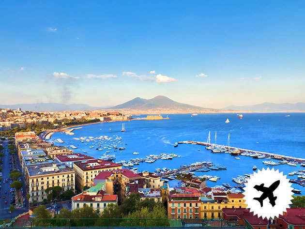 Nápoly- 4 nap / 3 éjszakás turnusok az olasz csizma déli részén / repülős utazás, szállással, reggelivel 2 főnek 2017 november - 2018 március között