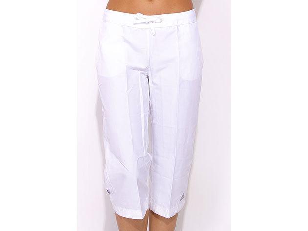 Adidas ESS WOVEN 3/4 PANT - fehér - XS