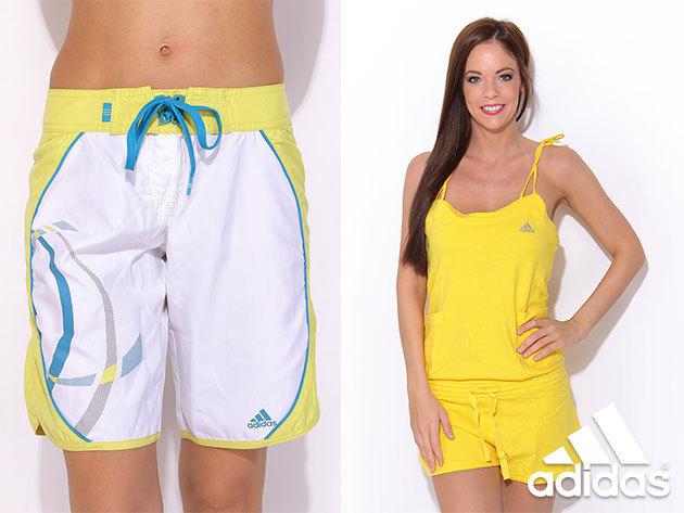 ADIDAS női bermudák, shortok, szoknyák és 3/4-es nadrágok OUTLET ÁRON