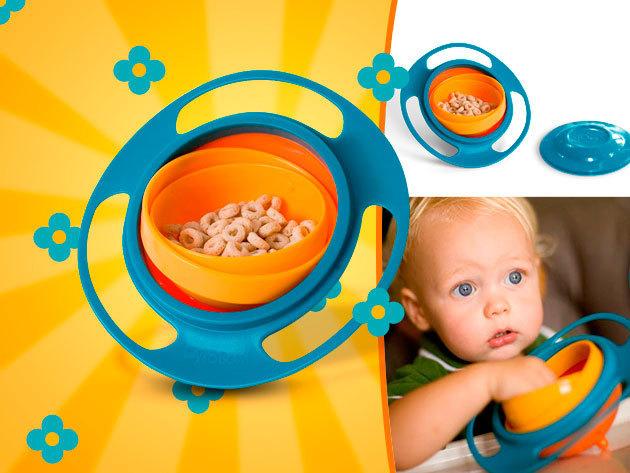 Bukfenctál - játékos, mókás és még praktikus is - ezzel a baba tányérral szórakozás lesz az evés