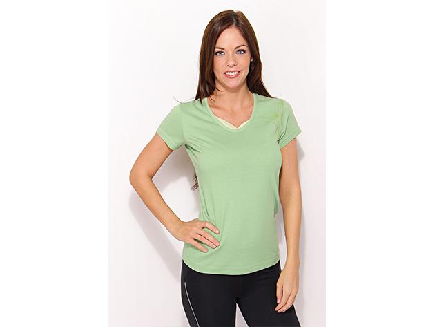 Adidas W Hiking Tee -  női póló - zöld - P45981 - 34