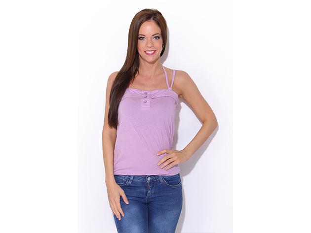 Adidas Strap Vest -  női atléta - lila - P94495 - 36
