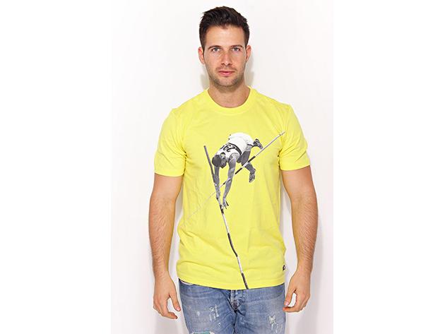 Adidas Adi Tee2 - férfi póló - sárga - X4478 - L