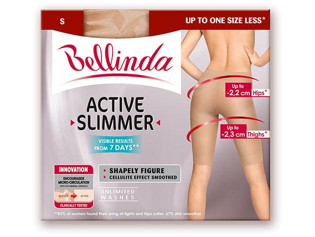 BELLINDA alakformáló női alsók, fekete és testszínben (S, M, L) - az ACTIVE SLIMMER serkenti az anyagcserét és karcsúsít