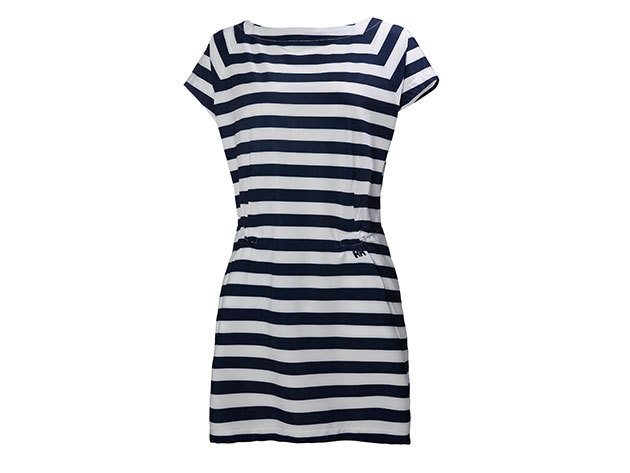 Helly Hansen W THALIA DRESS EVENING BLUE STRIPE S (54390_691-S) - AZONNAL ÁTVEHETŐ