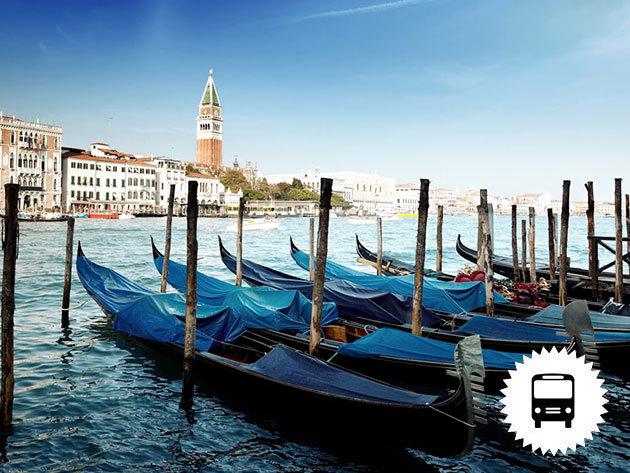 Velence és Trieszt buszos utazás, 1 éj szállás + reggeli +