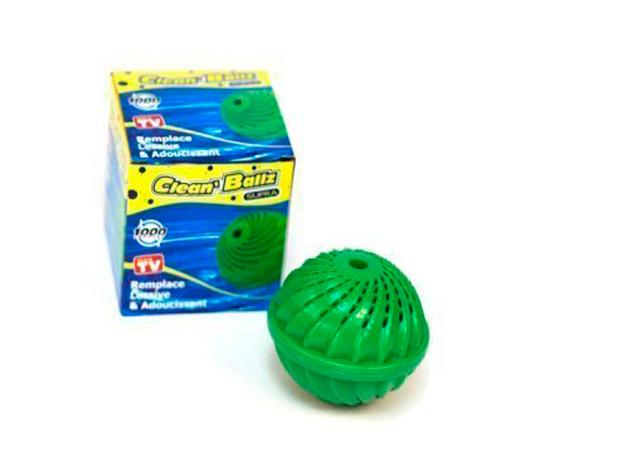 1db Clean Ballz környzetbarát mosógolyó + 1db mosógolyó fehérneműkhöz
