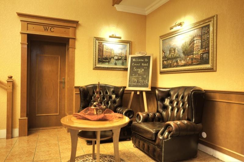 4 nap 3 éj 2 fő részére teljes ellátással Grand Boutique Hotel Sergijo**** luxus hotelben