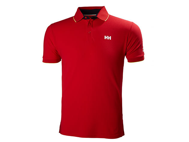 Helly Hansen HP RACING POLO FLAG RED XL (53012_110-XL)