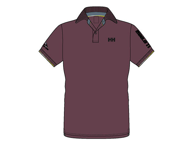 Helly Hansen HP RACING POLO EGGPLANT XXL (53012_277-2XL)