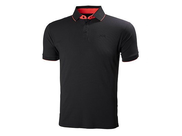 Helly Hansen HP RACING POLO EBONY L (53012_980-L)