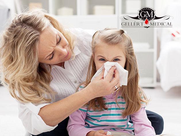 Gyakori gyermekkori allergiák szűrése gyermekek és felnőttek részére egyaránt, vérvétellel / GELLÉRT MEDICAL, XI. ker.