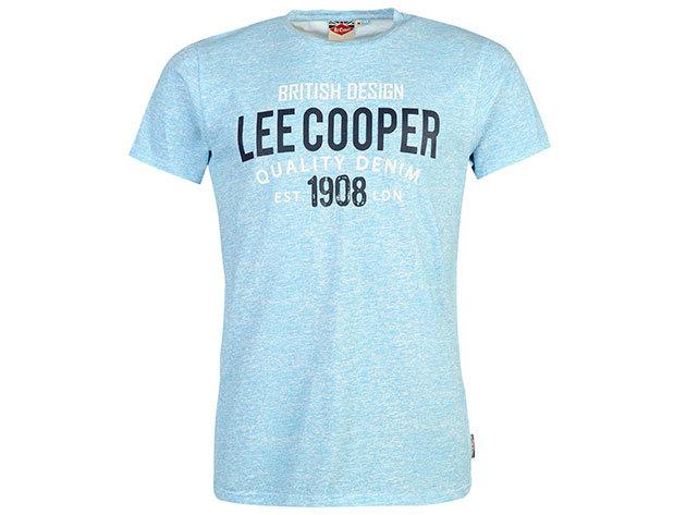 Lee Cooper Tex LL  világoskék férfi póló cikkszám: 59956618 - M