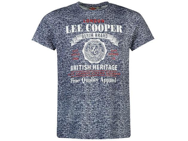 Lee Cooper Tex LL  sötétkék férfi póló cikkszám: 59956822 - S