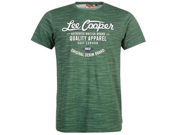 Lee Cooper Tex LL  zöld férfi póló cikkszám: 59957216 - XL