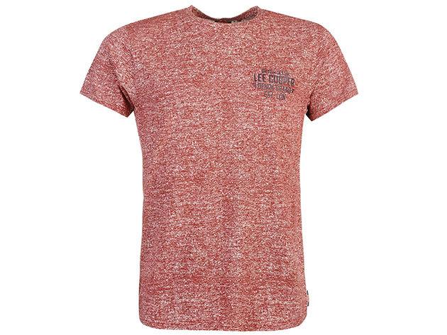 Lee Cooper Tex SL  bordó férfi póló cikkszám: 59958208 - M