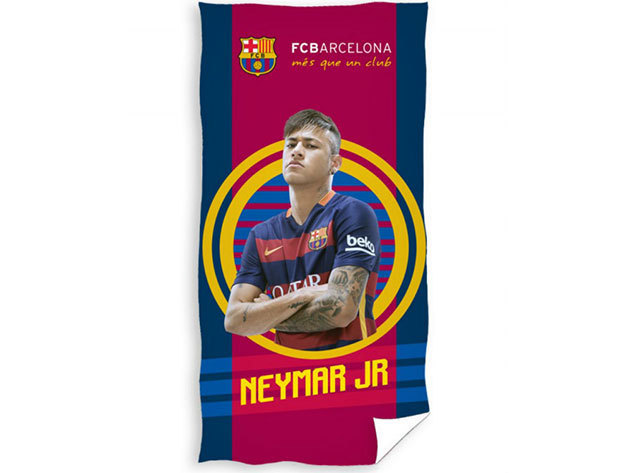 Licenszes törölköző - FC Barcelona - Neymar   - FCB9007NEYMAR