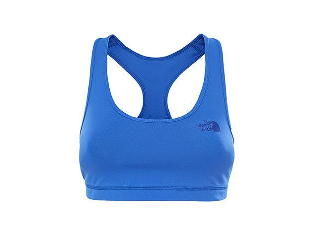 The North Face női sport melltartó W VERSITAS FEARLESS BRA ARO BLUE - T0CDU3NXD Méret L