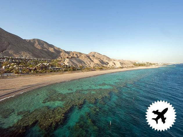 IZRAEAL, Eilat - 8 nap/7éj 2 főnek a Nova Like Hotel 4*-ben, reggelis ellátással, repjeggyel! Rengeteg látnivaló: tenger alatti obszervatórium, delfinek, Vörös kanyon, Timna Nemzeti Park, stb. 2017 november és 2018 március között!