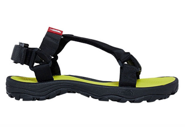 The North Face férfi szandál M LITEWAVE SANDAL TNFBLK/SLPHRSPG- T0CXS8C5W US 8 EU 40.5