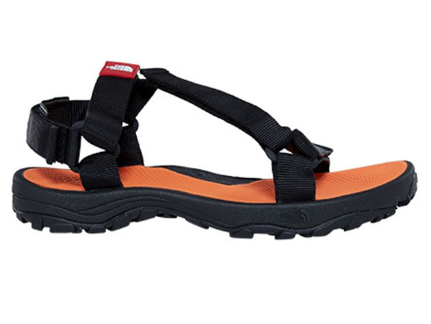 The North Face férfi szandál M LITEWAVE SANDAL PHNTGY/EXBRCORG - T0CXS8TFR US 8 EU 40.5