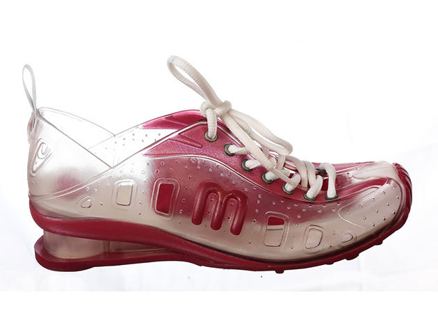 RIDER LOVE SYSTEM, női vizi cipő - piros áttetsző - 35