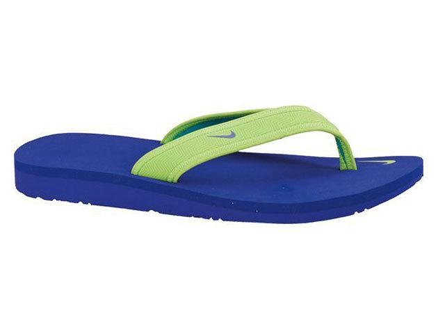 Nike W Celso Girl Thong, női papucs - zöld, lila - 38