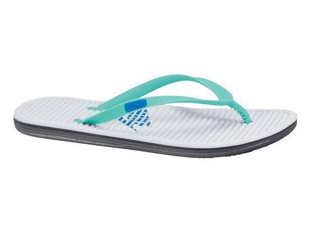 Nike Wmns Solarsoft Thong, női papucs - fehér, zöld - 39