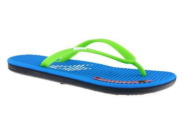 Nike Wmns Solarsoft Thong, női papucs - zöld, kék - 36.5