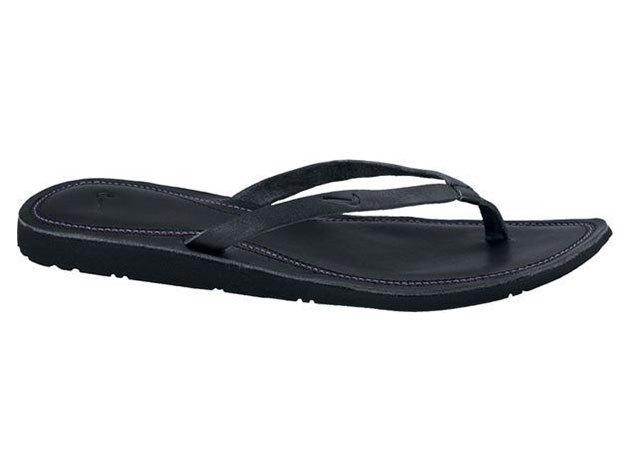 Nike Wmns Solarsoft Thong, női papucs - fekete - 36.5