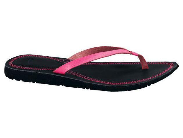 Nike Wmns Solarsoft Thong, női papucs - fekete, pink - 38