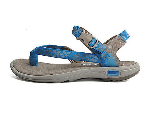 Adidas Libria Sandal, női szandál - kék, szürke - 36.7