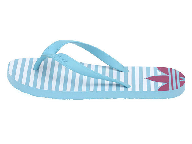 Adidas ADI SUN W, női papucs - világoskék - 38