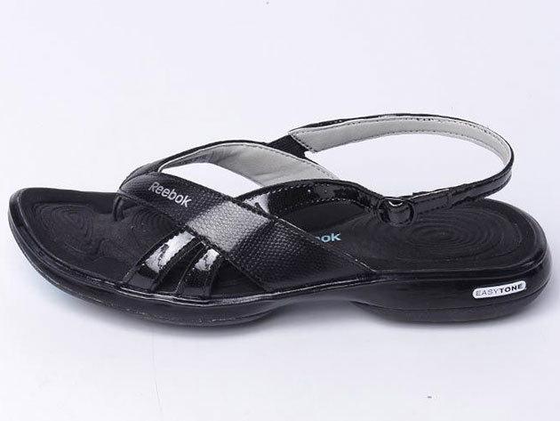 Reebok Easytone Craze, női lábujjközös papucs - fekete - 35