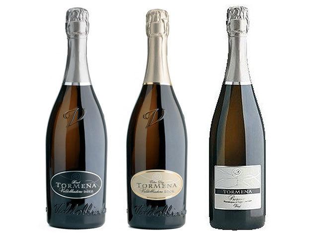 Prosecco válogatás a Tormena pincészettől (3 palack)