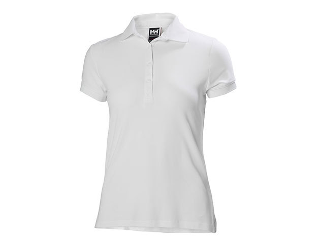 Helly Hansen W CREWLINE POLO WHITE L (53049_001-L)