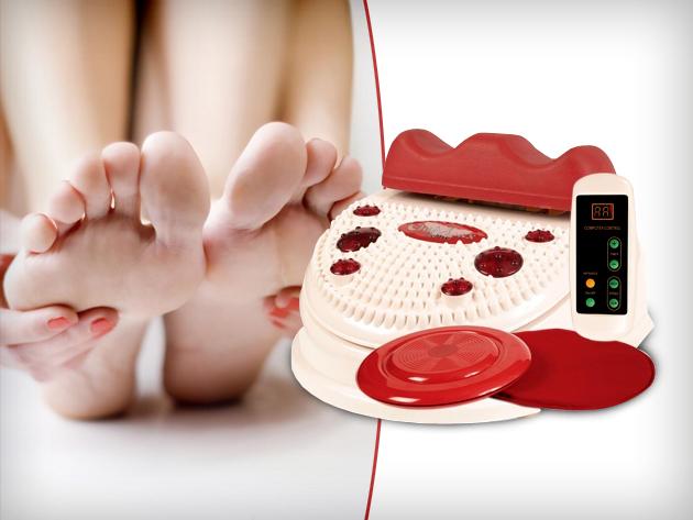 Egészség és kiegyensúlyozott lélek a Chi-géppel és infrás talpmasszírozóval segítségével.