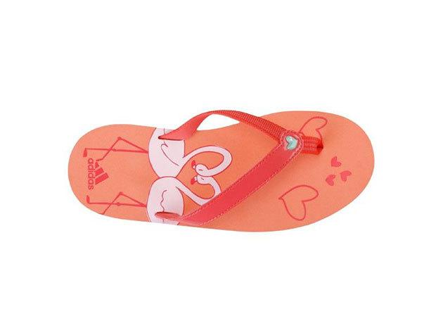 Adidas Adigirl Tehra II K, lány papucs - narancssárga - 28