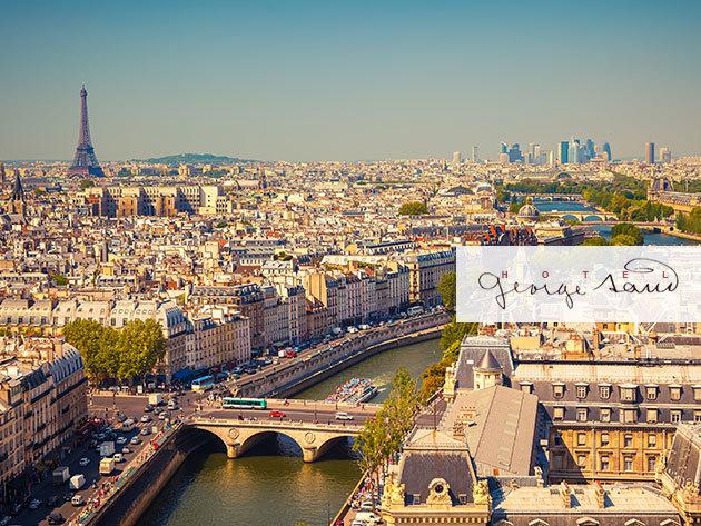 Párizs, hosszú hétvége a Hôtel George Sand-ban: 4 nap / 3 éjszaka 2 fő részére, svédasztalos reggelivel, a fények városában - 1 évig beváltható