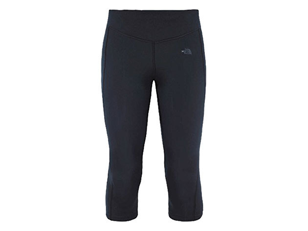 The North Face női Capri nadrág W PULSE CAPRI TGTEU TNF BLACK - T92ZW7JK3 Méret M