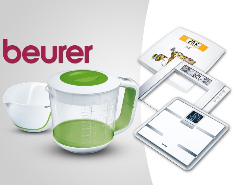 Mérlegeljünk a Beurer konyhai és személymérlegeivel egyszerűen, gyorsan, pontosan!