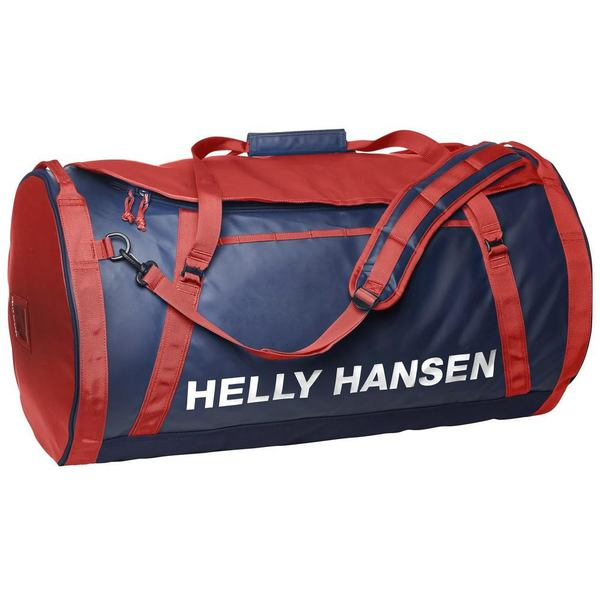 Helly Hansen HH DUFFEL BAG 2 90L EVENING BLUE / RED STD (68003_691prev-STD) - AZONNAL ÁTVEHETŐ