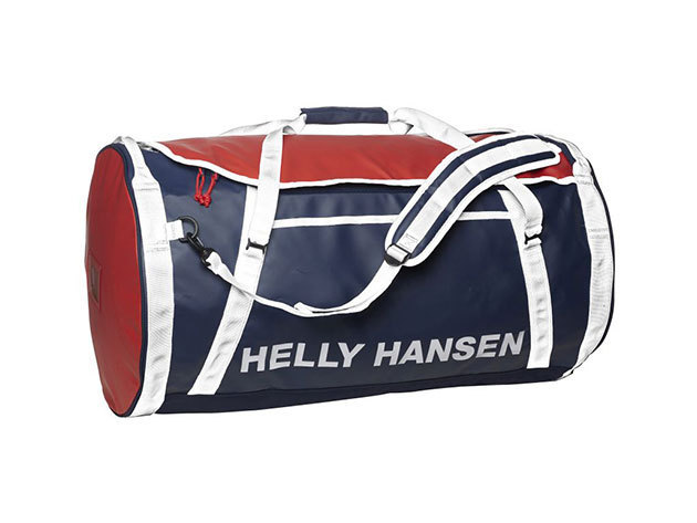 Helly Hansen HH DUFFEL BAG 2 90L EVENING BLUE / RED / WHIT STD (68003_691-STD) - AZONNAL ÁTVEHETŐ
