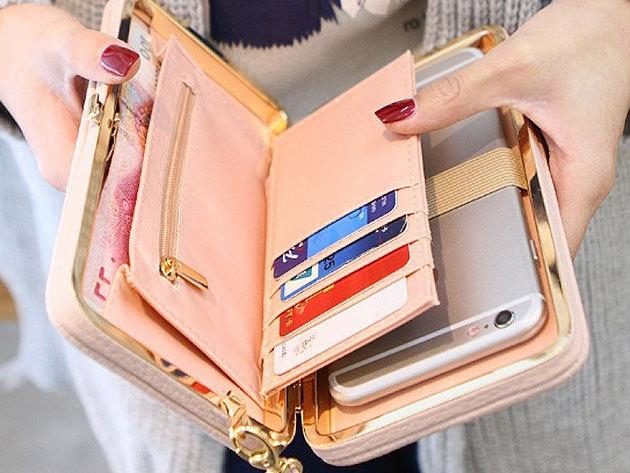 Női clutch táska választható színben - elegáns megjelenés, kiváló és praktikus kiegészítő