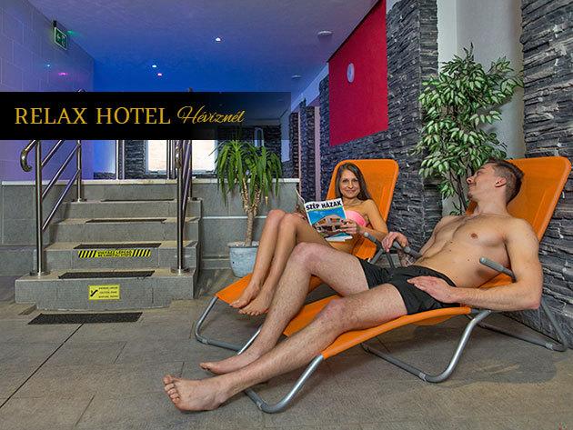 Cserszegtomaji kikapcsolódás Relax Hotel Hévíznél - 3 nap/ 2 éjszaka szállás félpanziós ellátással és wellnesszel + egyéb kedvezményekkel, szeptember 30-ig