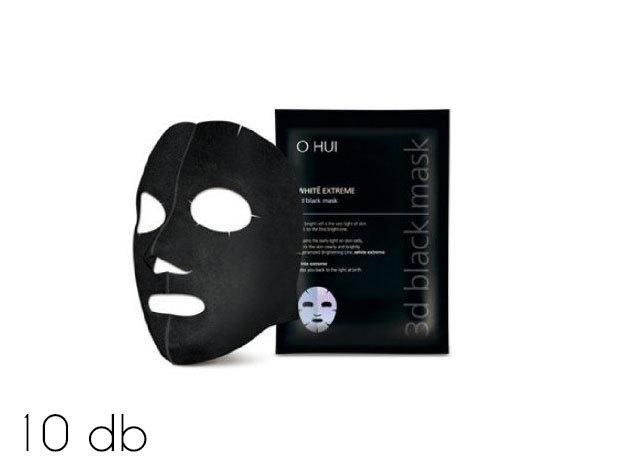 10 db koreai fekete maszk