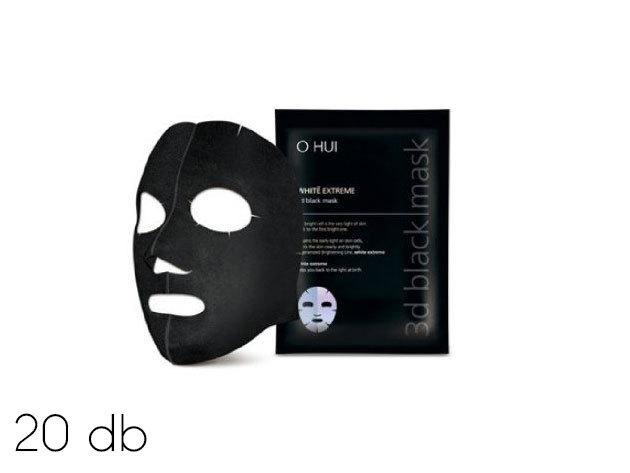 20 db koreai fekete maszk