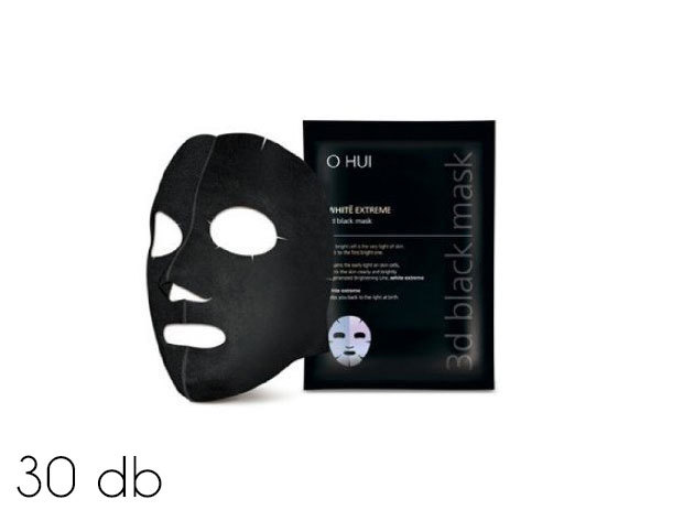 30 db koreai fekete maszk